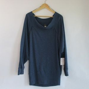 Free People Palisades Off the Shoulder Top Size M